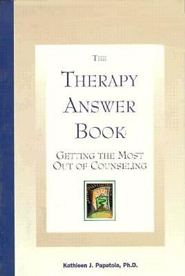 Image for The Therapy Answer Book: Getting the Most Out of Counseling