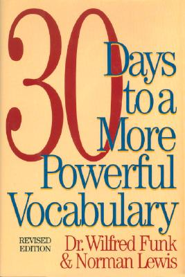 Image for 30 Days to a More Powerful Vocabulary
