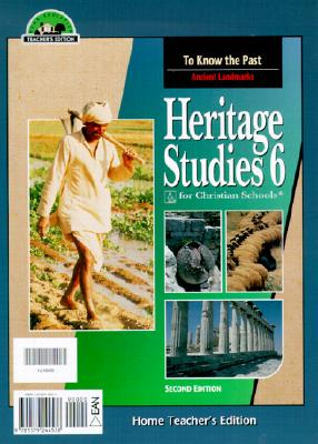 Image for Heritage Studies 6 Home Teacher's Edition, Second Edition