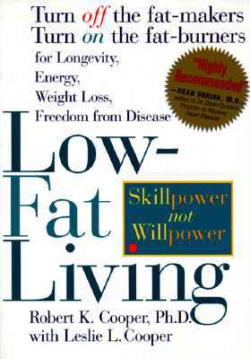 Image for LOW-FAT LIVING : TURN OFF THE FAT-MAKERS