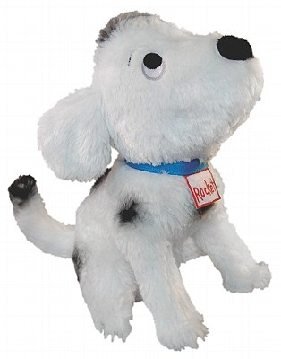 MerryMakers How Rocket Learned To Read Plush Doll, 9-Inch, Hills, Tad