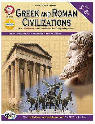 Greek and Roman Civilizations, Grades 5 - 8 (World History), Dierckx, Heidi M.C.