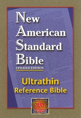 NASB Ultrathin Reference Bible (Burgundy, Bonded Leather), The Lockman Foundation