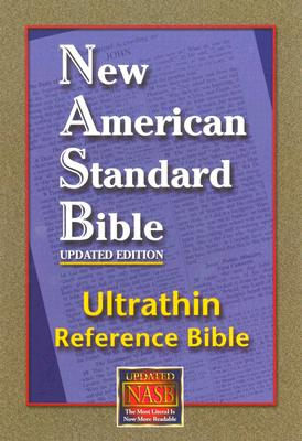 Image for New American Standard Ultrathin Reference Bible; Black Genuine Leather