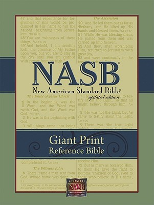 Image for NASB Giant-Print Reference Bible (Burgundy Imitation Leather)