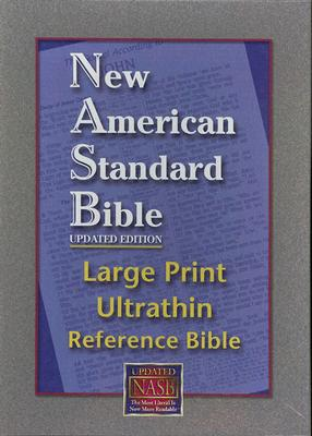 Image for NASB Large Print Ultrathin Reference (Bugundy, Bonded Leather)