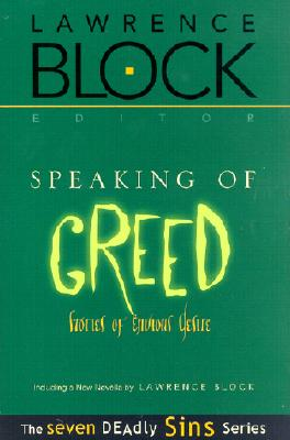 Image for Speaking of Greed