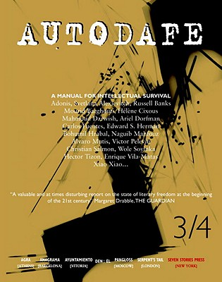 Image for Autodafe 3/4: The Journal of the International Parliament of Writers
