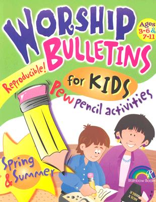 Image for Worship Bulletins for Kids - Spring & Summer (Ages 3 - 6 & 7 - 11)