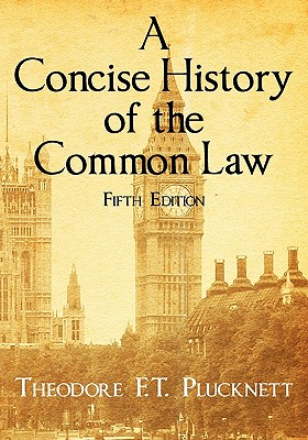 Image for A Concise History of the Common Law. Fifth Edition.