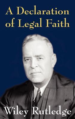 Image for A Declaration of Legal Faith