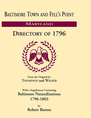 Image for Baltimore and Fell's Point Directory of 1796