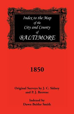 Image for Index to the 1850 Map of Baltimore City and County