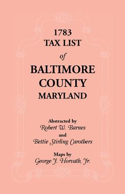 Image for 1783 Tax List of Baltimore County