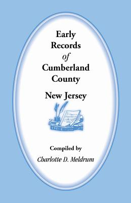 Image for Early Records of Cumberland County, New Jersey