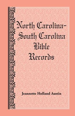 Image for North Carolina -- South Carolina Bible Records