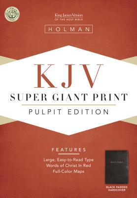 KJV Pulpit Bible, Black Padded Hardcover