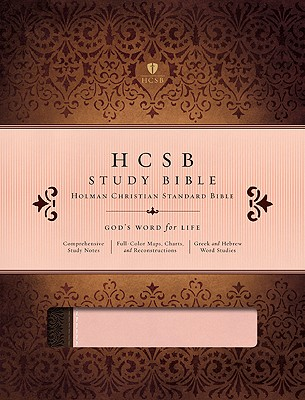 HCSB Study Bible (Blush and Brown), Holman Bible Editorial Staff