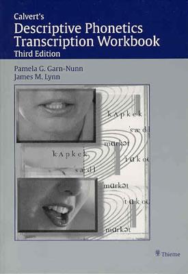 Image for CALVERT'S DESCRIPTIVE PHONETICS TRANSCRIPTION WORKBOOK THIRD EDITION
