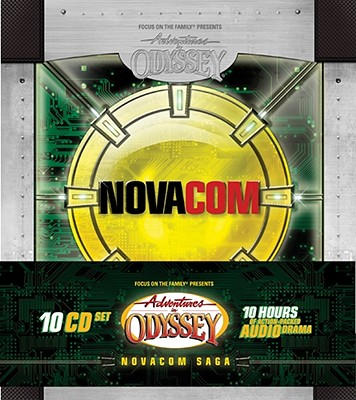 Image for Novacom Saga: 10 Hours of Action-Packed Audio Drama (Adventures in Odyssey)