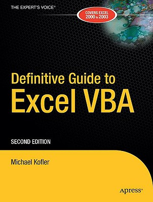 Image for Definitive Guide to Excel VBA, Second Edition