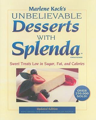 Image for UNBELIEVABLE DESSERTS WITH SPLENDA