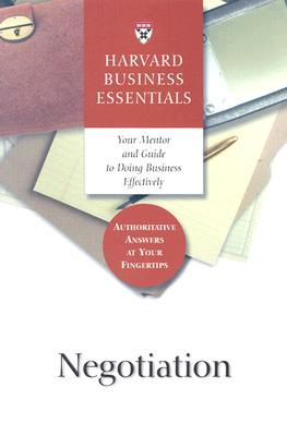 Image for Negotiation (Harvard Business Essentials Series)