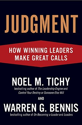 Image for Judgment: How Winning Leaders Make Great Calls