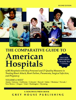 Image for Comparative Guide to American Hospitals, Western Region (Comparative Guide to American Hospitals: Western) (Paperback) Second Edition