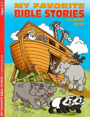 My Favorite Bible Stories Reproducible Coloring Book (Ages 2-7), Warner Press