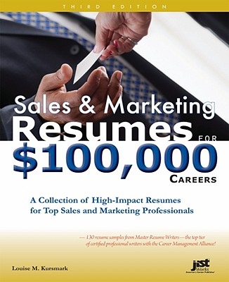 Image for Sales & Marketing Resumes for $100,000 Careers