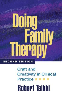 Image for Doing Family Therapy, Second Edition: Craft and Creativity in Clinical Practice (The Guilford Family Therapy Series)