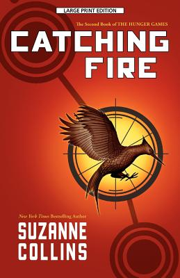 Image for CATCHING FIRE (LARGE PRINT)