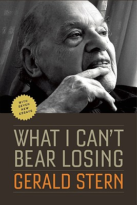 What I Can't Bear Losing: Essays by Gerald Stern, Stern, Gerald