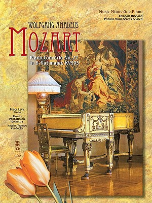 Image for Mozart - Piano Concerto No. 27 in B-flat Major, KV595: Music Minus One Piano Deluxe 2-CD Set (Music Minus One (Numbered))