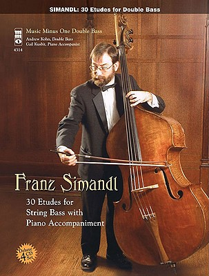 Image for Simandl - 30 Etudes for Double Bass: Music Minus One Double Bass Book & Online Audio