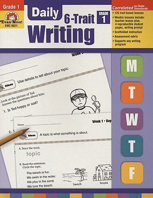 Image for Evan-Moor Daily 6-Trait Writing, Grade 1 (Daily Practice Books)