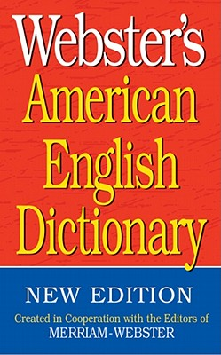 Image for Webster's American English Dictionary