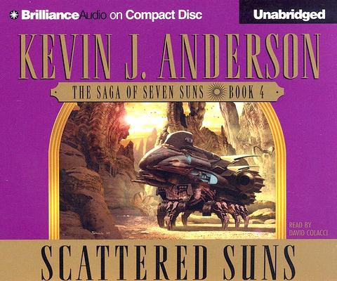 Scattered Suns (The Saga of Seven Suns, Book 4), Kevin J. Anderson