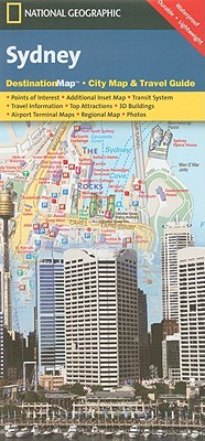 Sydney (National Geographic Destination City Map), National Geographic Maps