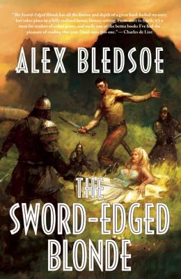 The Sword-Edged Blonde, Bledsoe, Alex.