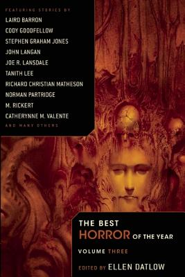 Image for The Best Horror of the Year Volume 3