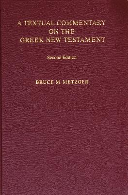 Image for A Textual Commentary on the Greek New Testament (Ancient Greek Edition)