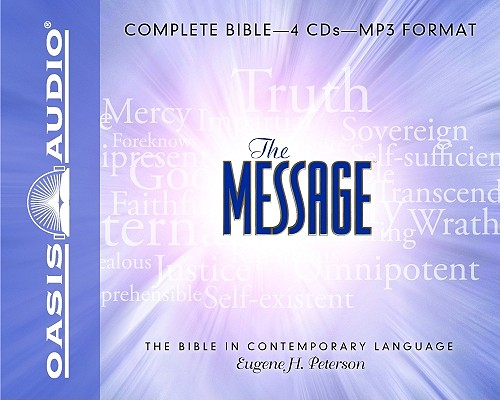 """Image for """"''The Message, Complete Bible on MP3''"""""""