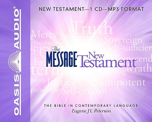 Image for The Message Bible: New Testament MP3