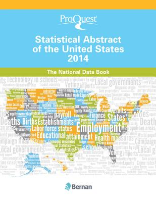 Image for ProQuest Statistical Abstract of the United States 2014: The National Data Book (ProQuest Statistical Abstract Series)