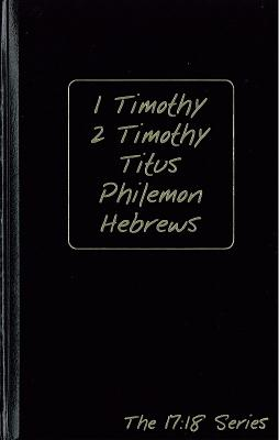 Journible: 1 Timothy, 2 Timothy, Titus, Philemon, Hebrews, Robert M. Wynalda