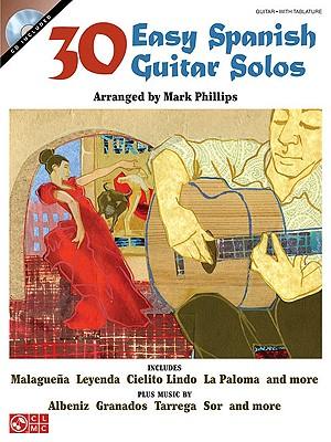 Image for 30 Easy Spanish Guitar Solos Bk/online audio