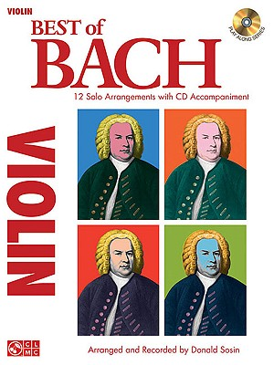 Image for Best of Bach: 12 Solo Arrangements with CD Accompaniment