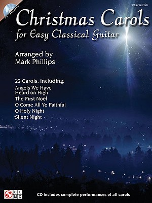 Image for Christmas Carols for Easy Classical Guitar (Easy Guitar Book & Online Audio)